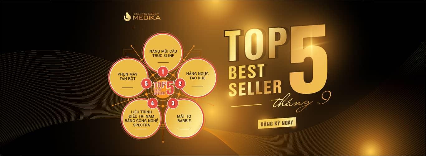 TOP 5 DỊCH VỤ HOT NHẤT TẠI MEDIKA TRONG THÁNG 9