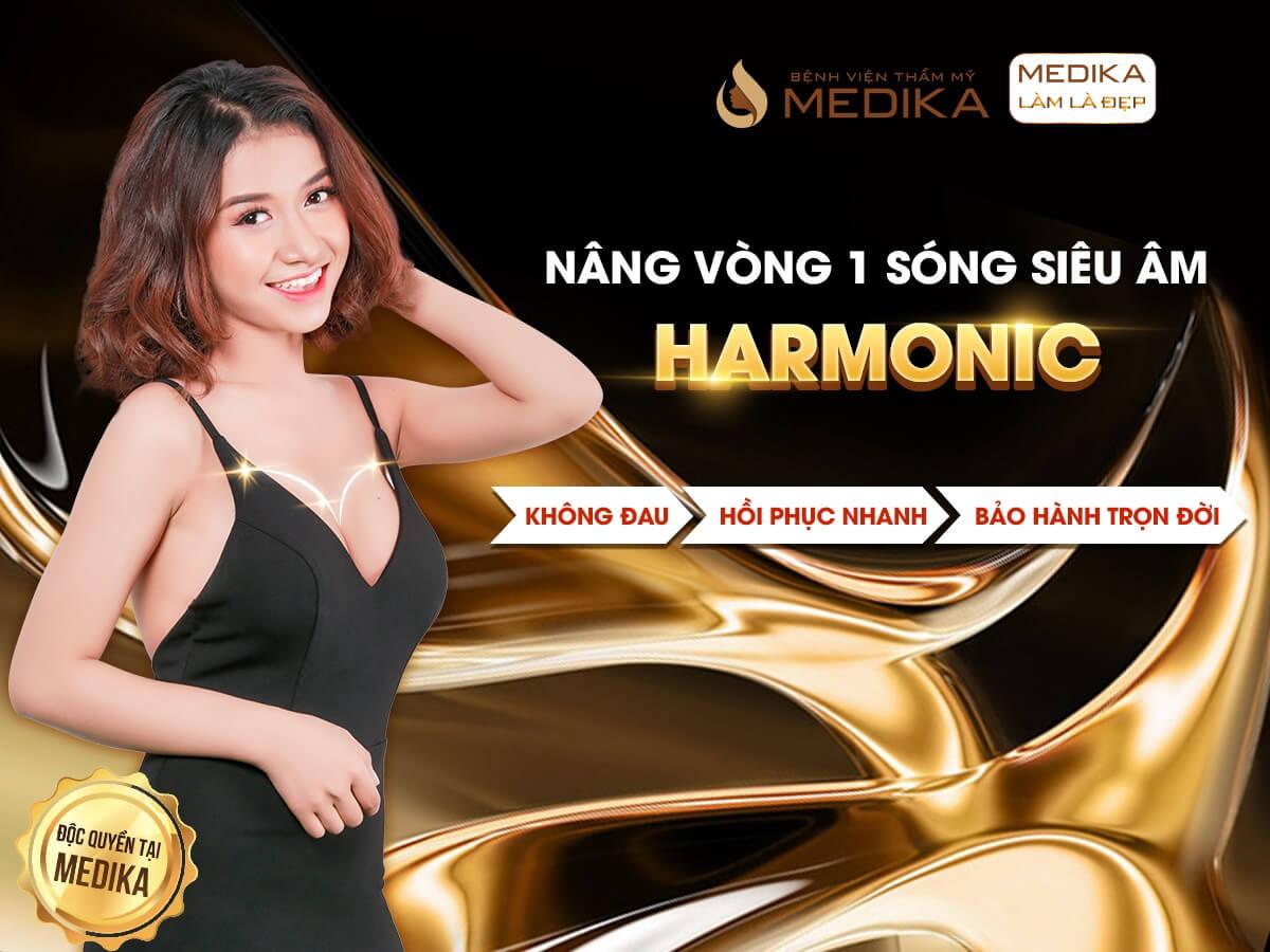 Phương pháp nâng vòng 1 sóng siêu âm Harmonic ở Bệnh viện thẩm mỹ MEDIKA