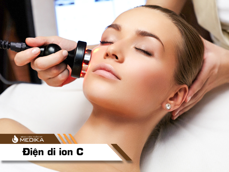 Liệu trình điện DI ION C tại bệnh viện thẩm mỹ MEDIKA