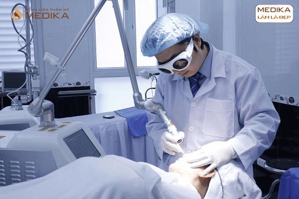 Điều trị da bằng Spectra Laser thực hiện ở Bệnh viện thẩm mỹ MEDIKA