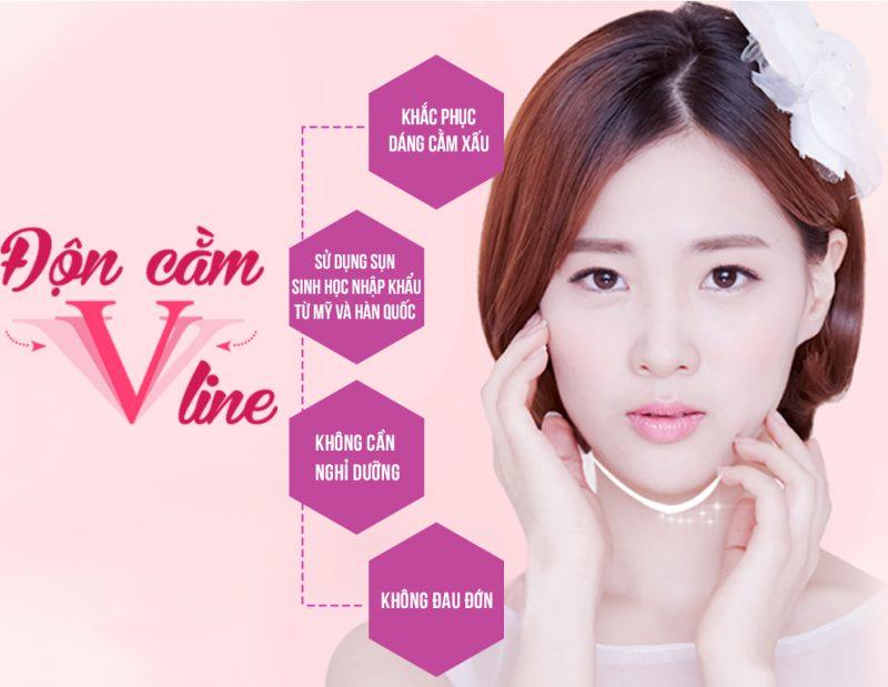 Phương pháp phẫu thuật độn cằm V line được các phái đẹp tin tưởng lựa chọn