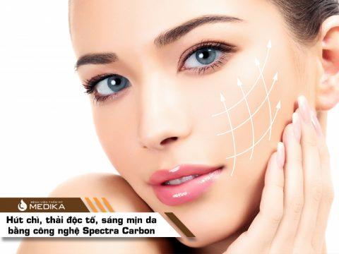 Hút chì, thải độc, sáng mịn da bằng công nghệ Spectra Carbon
