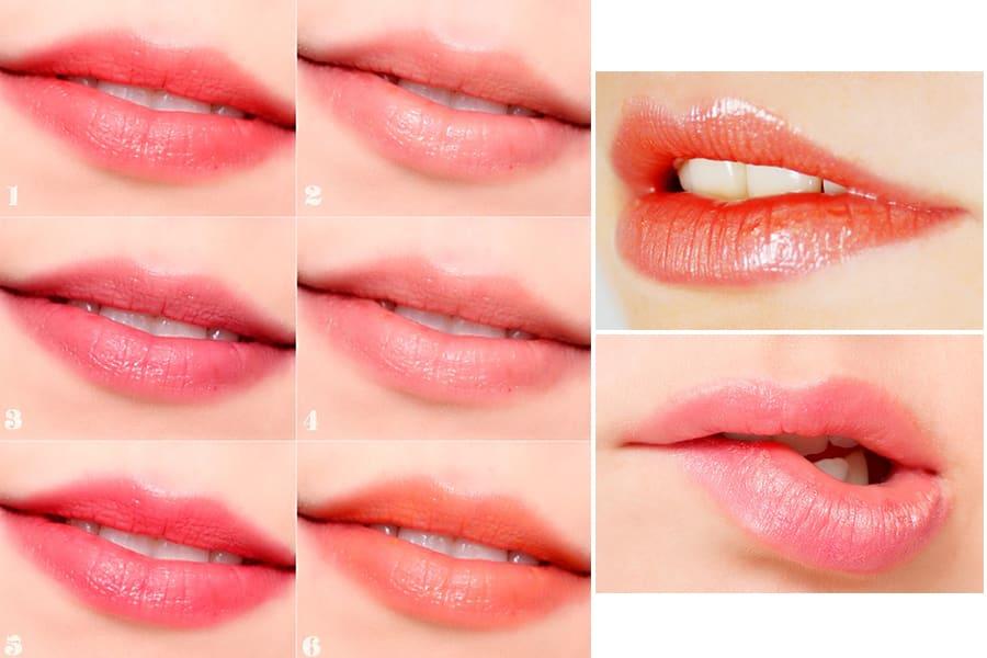 Công nghệ phun môi collagen của MEDIKA có màu xăm đẹp thời thượng và đa dạng với hơn chục sắc màu