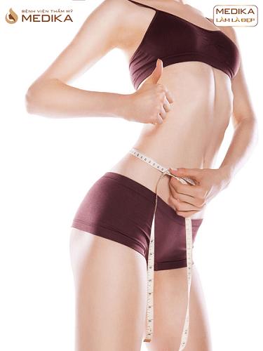 Phương pháp Hút mỡ eo ở Bệnh viện thẩm mỹ MEDIKA