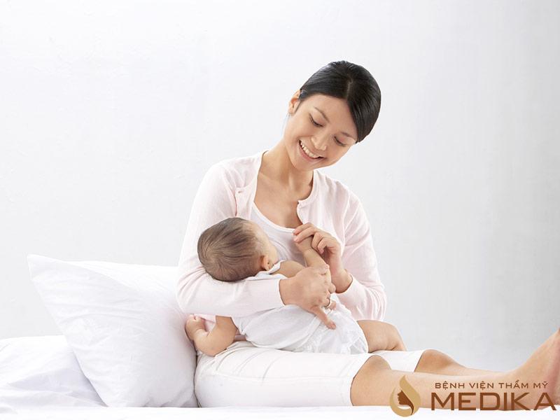 Vấn đề này sẽ có ảnh hưởng đến chức năng nuôi con của người mẹ