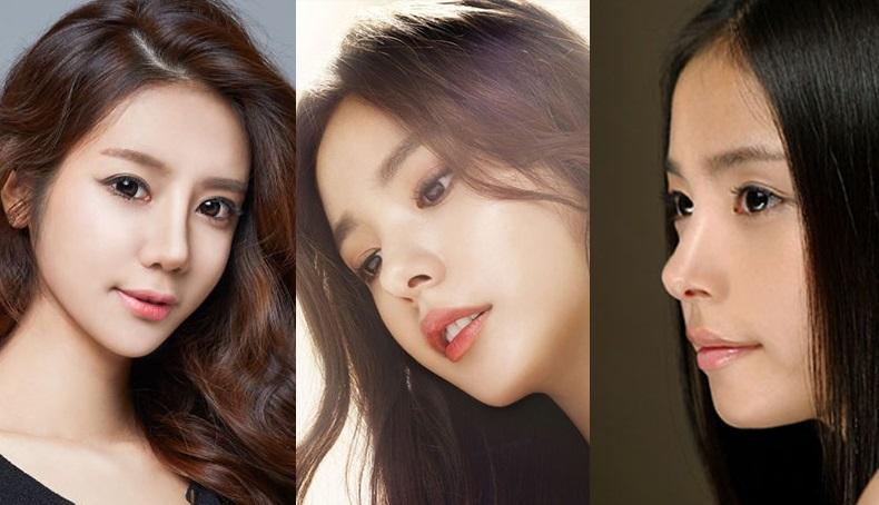 Sao Hàn sở hữu chiếc mũi với độ cong đẹp tự nhiên
