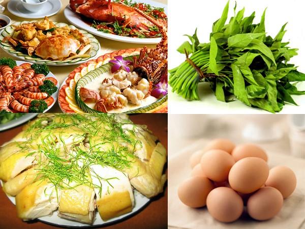 Kiêng một số thực phẩm gây sẹo lồi như: thịt bò…