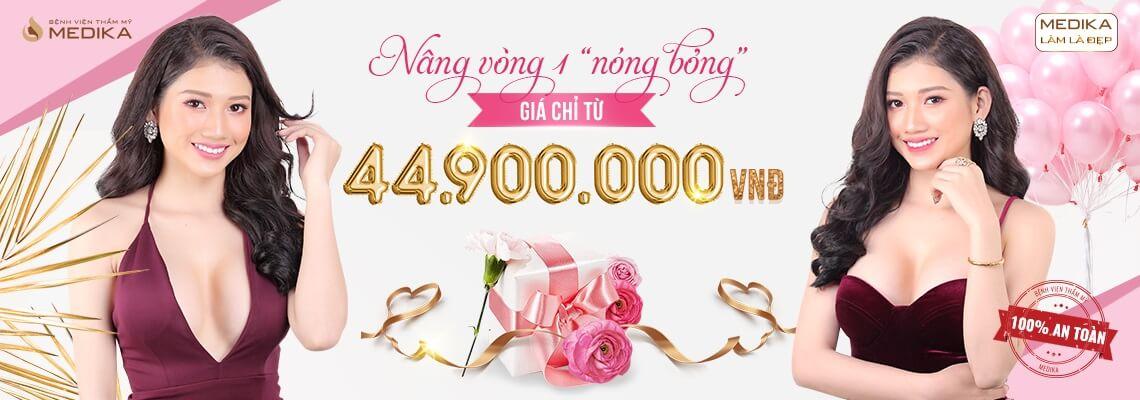 Chào mừng quốc tế phụ nữ Việt Nam 8-3-2019 nâng vòng 1 nóng bỏng MEDIKA