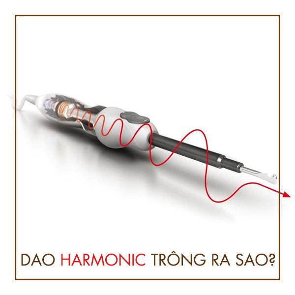 Sử dụng dao Harmonic để thực hiện phẫu thuật