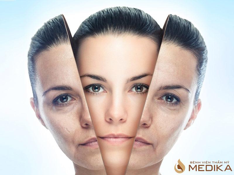 Phương pháp này làm trẻ hóa da và sửa chữa theo cơ chế kép