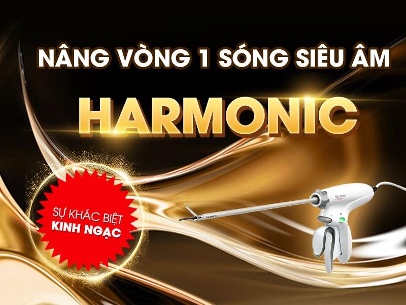 Nâng vòng 1 sóng siêu âm Harmonic an toàn không?