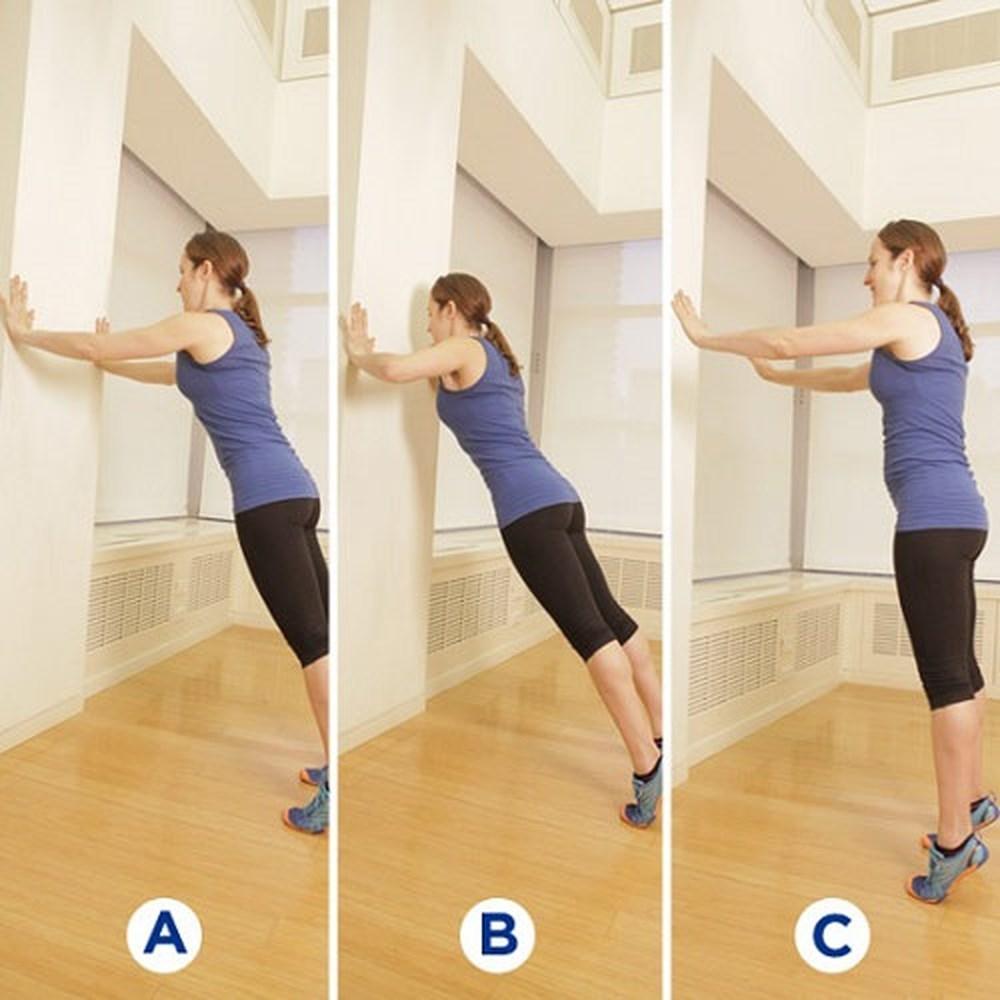 Tập luyện giúp nâng ngực chảy xệ