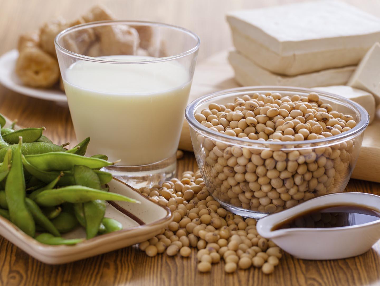 Tăng kích thước vòng 1 nhờ các thực phẩm chế biến từ đậu nành