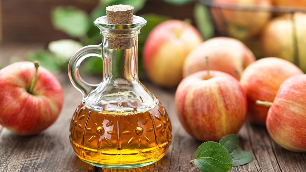 Sự kết hợp giữa giấm táo và muối