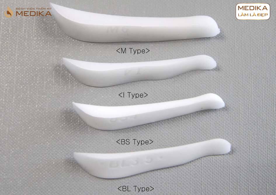 Các loại sụn DIKA 3D ở bệnh viện thẩm mỹ MEDIKA