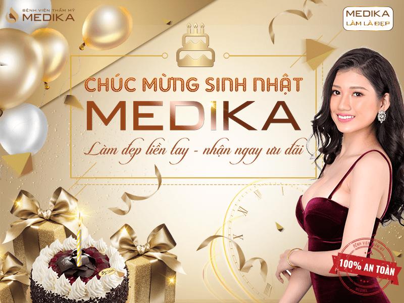 Chúc mừng sinh nhật MEDIKA - Làm đẹp liền tay nhận ngay ưu đãi 20/10 Featured