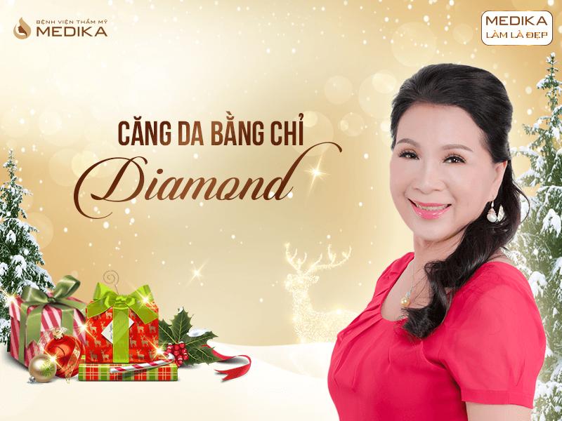 Những xu hướng thẩm mỹ được ưa chuộng nhất 2019 Căng da bằng chỉ Diamond MEDIKA.vn