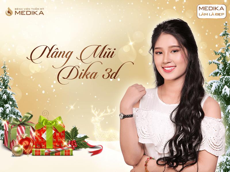 Những xu hướng thẩm mỹ được ưa chuộng nhất 2019 Nâng mũi Dika 3D MEDIKA.vn
