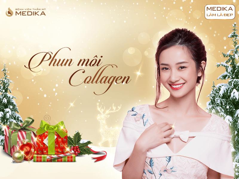 Những xu hướng thẩm mỹ được ưa chuộng nhất 2019 Phun môi Collagen MEDIKA.vn