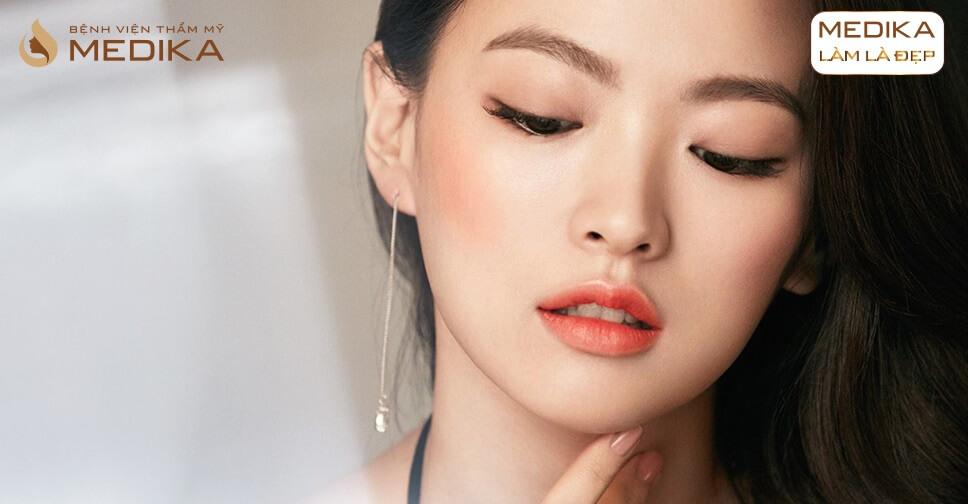Bí quyết chọn màu môi cực chuẩn khi phun môi Collagen ở Bệnh viện thẩm mỹ MEDIKA