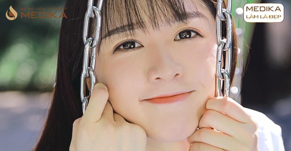 Chuyên gia chia sẻ việc mở rộng góc mắt trong có để lại sẹo không? Ở bệnh viện thẩm mỹ MEDIKA