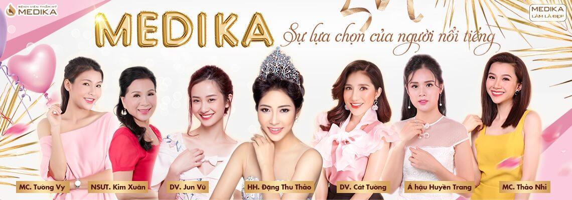 Chào mừng quốc tế phụ nữ Việt Nam 8-3-2019 sự lựa chọn của người nổi tiếng MEDIKA