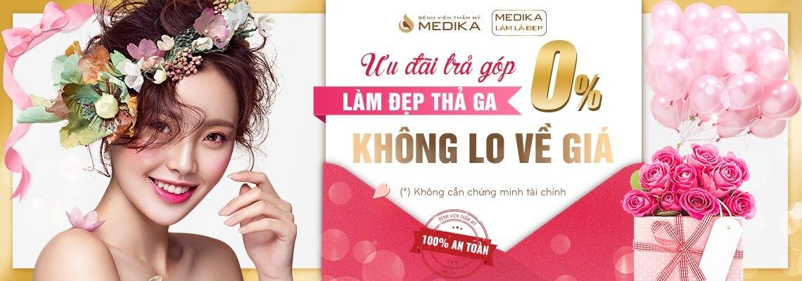Chào mừng quốc tế phụ nữ Việt Nam 8-3-2019 ưu đãi trả góp 0% MEDIKA