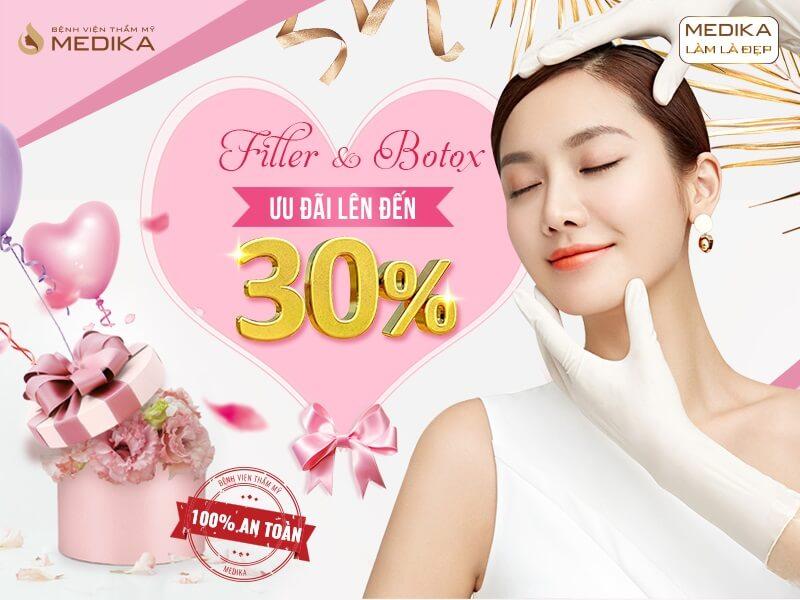 Chào mừng quốc tế phụ nữ Việt Nam 8/3 - Tô điểm nét duyên - Ưu đãi triền miên Filler Botox ở MEDIKA
