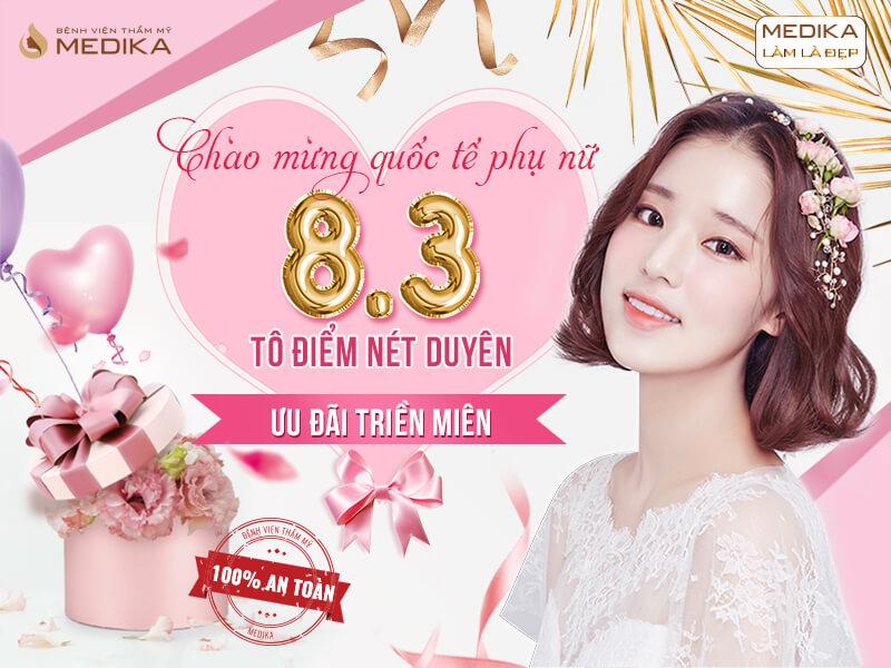 Chào mừng quốc tế phụ nữ Việt Nam 8/3 - Tô điểm nét duyên - Ưu đãi triền miên ở MEDIKA Thumbnails