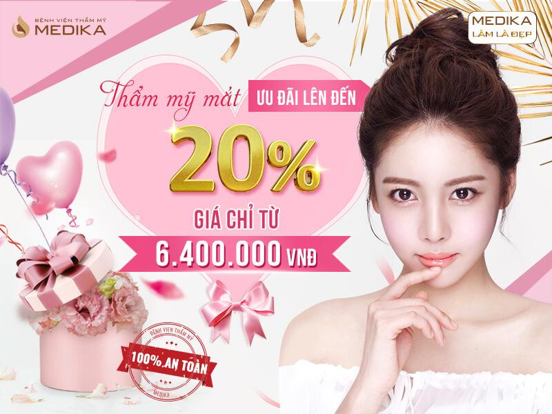 Chào mừng quốc tế phụ nữ Việt Nam 8/3 - Tô điểm nét duyên - Ưu đãi triền miên thẩm mỹ mắt ở MEDIKA