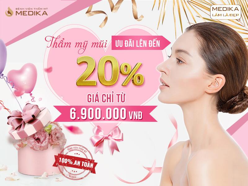 Chào mừng quốc tế phụ nữ Việt Nam 8/3 - Tô điểm nét duyên - Ưu đãi triền miên thẩm mỹ mũi ở MEDIKA