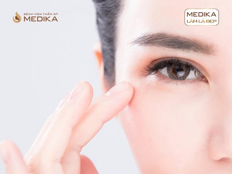 Những lỗi thường gặp khi bấm mí mắt Hàn Quốc bị hỏng ở bệnh viện thẩm mỹ MEDIKA