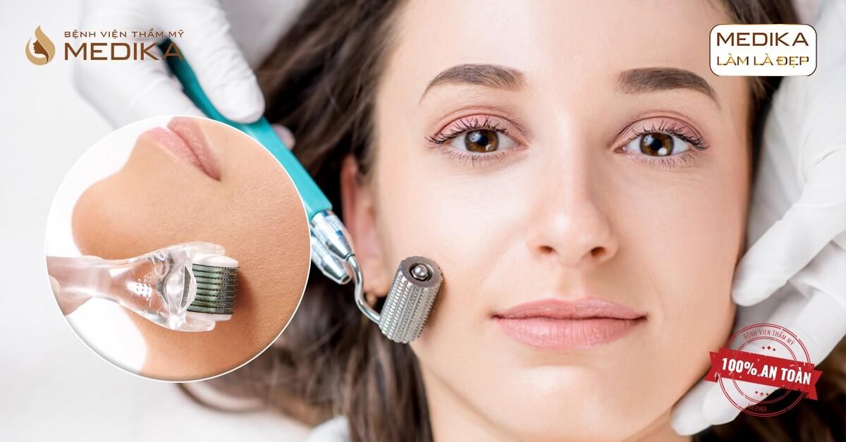 Hướng dẫn cách dưỡng da sau lăn kim với những lưu ý quan trọng tại MEDIKA.vn