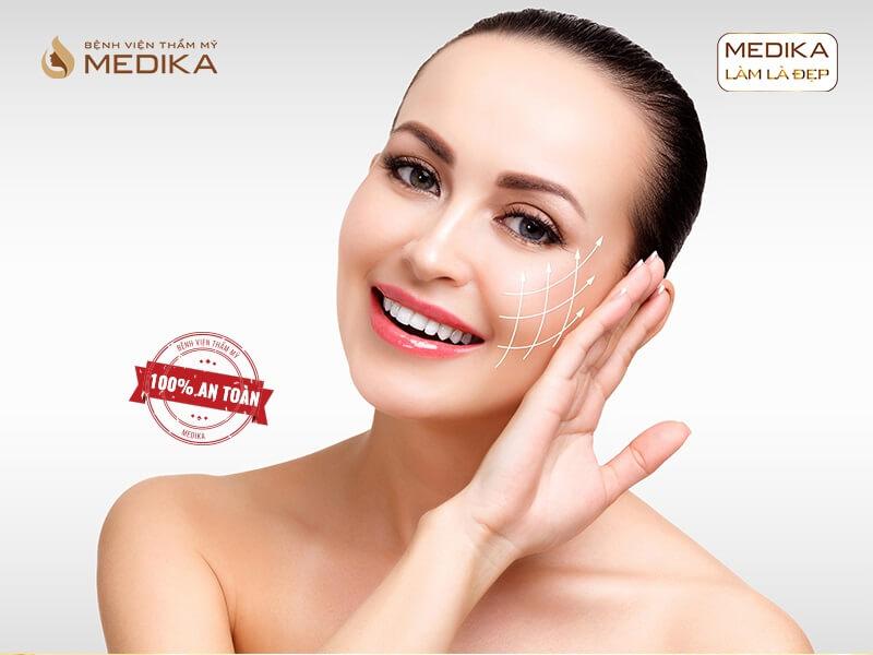 Căng da bằng chỉ Diamond 3D thu hút khách hàng vì lí do gì ở MEDIKA.vn?