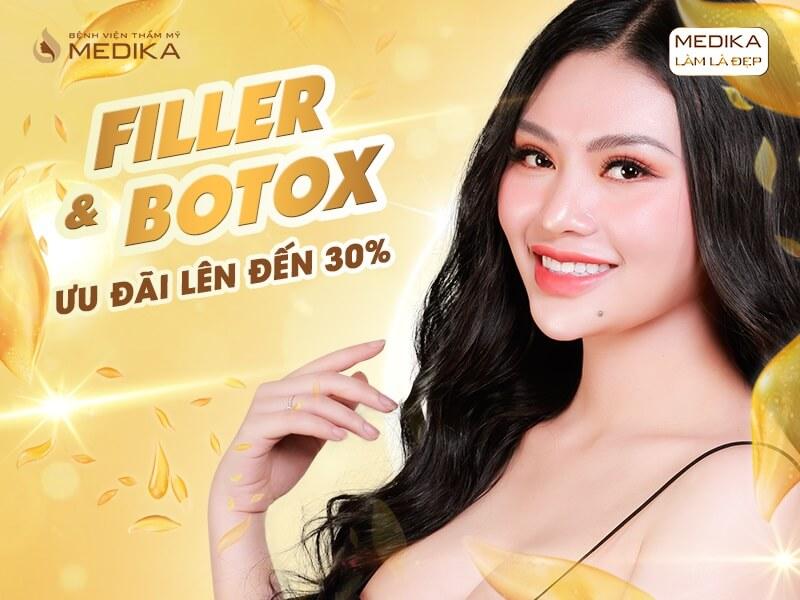 Cùng MEDIKA - Đánh thức quyền năng phái đẹp với Filler & Botox