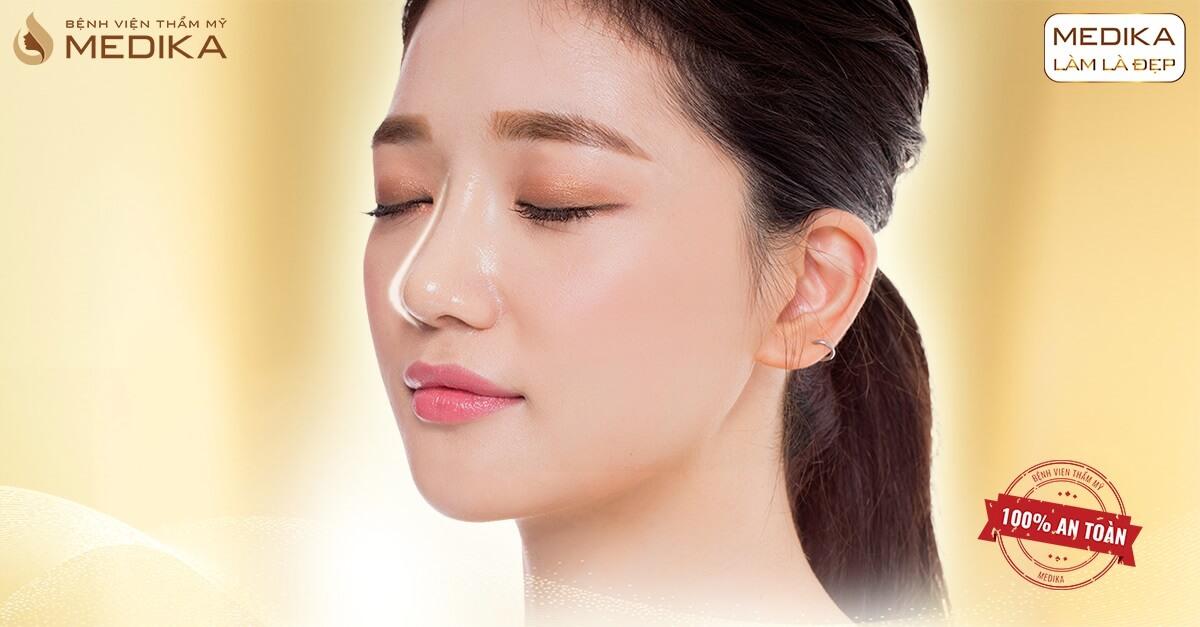 Nâng mũi siêu cấu trúc - Giải pháp nâng mũi công nghệ cao - Bệnh viện thẩm mỹ MEDIKA