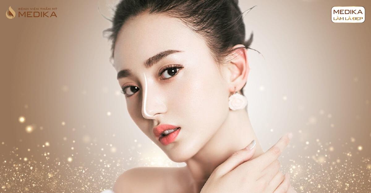 Nâng mũi sụn tự thân kết hợp sụn nhân tạo - Nâng mũi công nghệ cao tại MEDIKA.vn