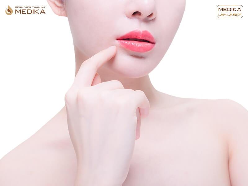 Sự thật ít ai biết về việc tiêm Filler môi - MEDIKA.vn