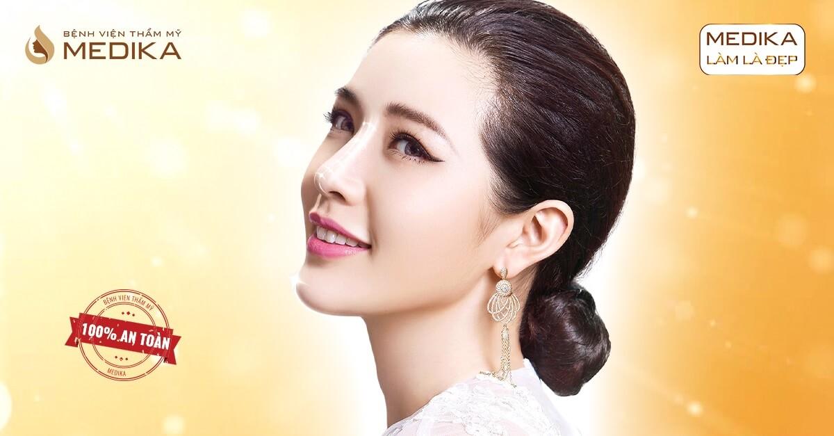 Nâng mũi bọc sụn - Giải pháp nâng mũi hiện đại cho phái đẹp - MEDIKA.vn