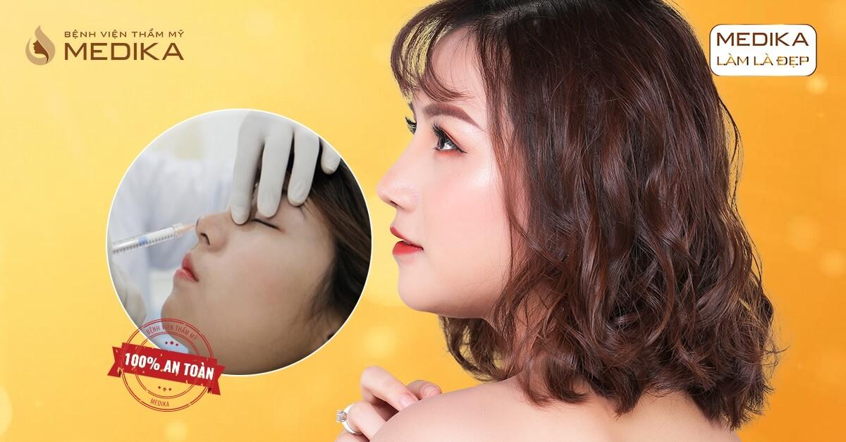 Tiêm Filler mũi - Giải pháp nâng mũi không phẫu thuật - Bệnh viện thẩm mỹ MEDIKA