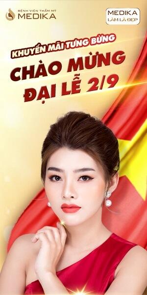 Banner dọc - Khuyến mãi tưng bừng - Chào mừng đại lễ 2/9