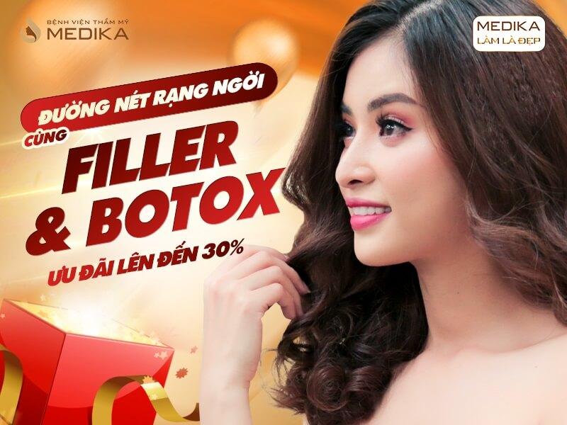 Đường nét rạng ngời cùng Filler & Botox trong tháng 10-2019