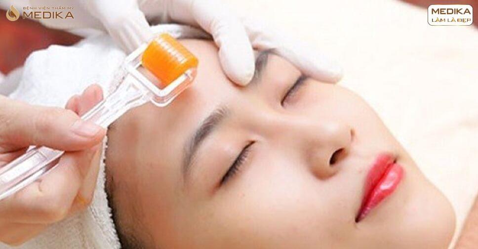 Lăn kim tế bào gốc mang lại hiệu quả gì cho làn da của bạn - MEDIKA.vn