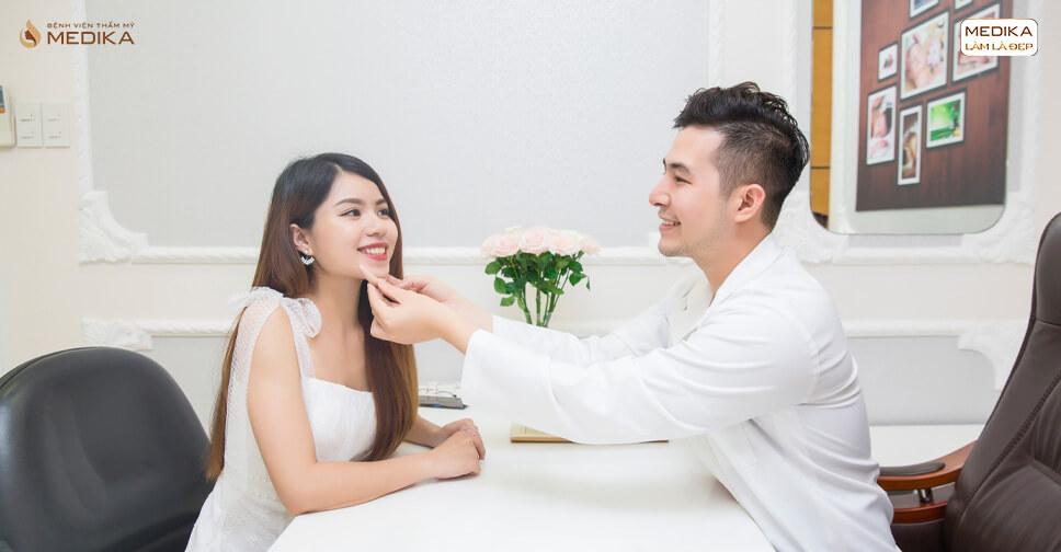 Nhật kí độn cằm của khách hàng tại MEDIKA - Bệnh viện thẩm mỹ MEDIKA