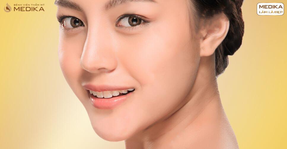 Những lý do khiến cho phương pháp nâng mũi L line được ưa chuộng - MEDIKA.vn