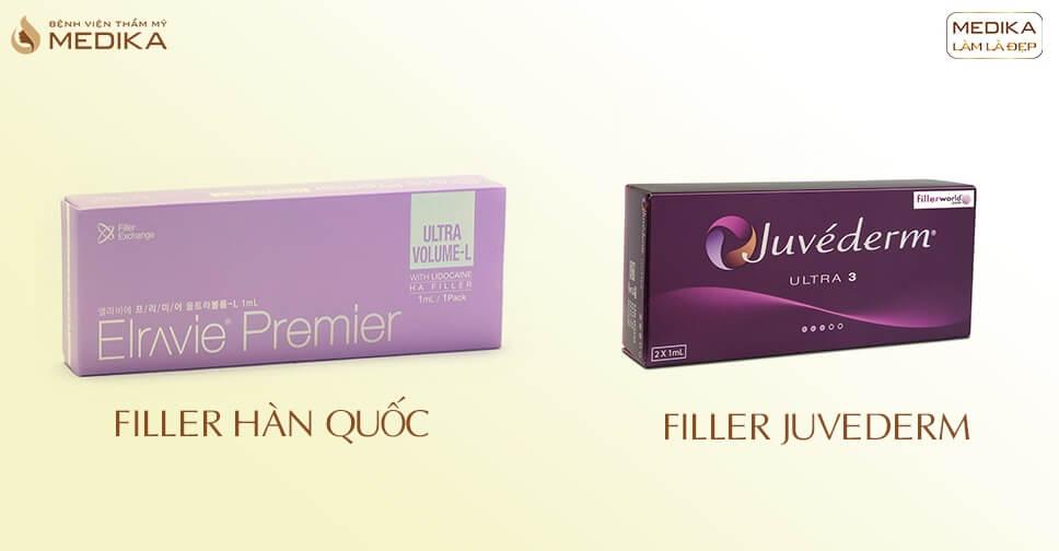 Các loại Filler - Bệnh viện thẩm mỹ MEDIKA