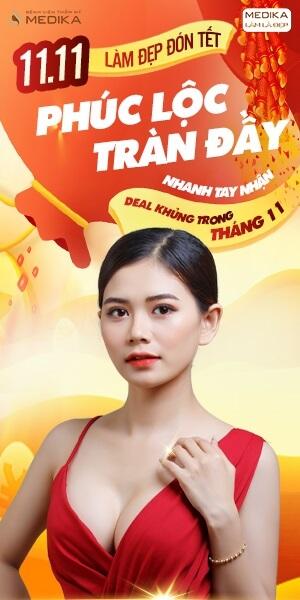 Làm đẹp đón Tết - Phúc lộc tràn đầy - MEDIKA.vn - Banner dọc
