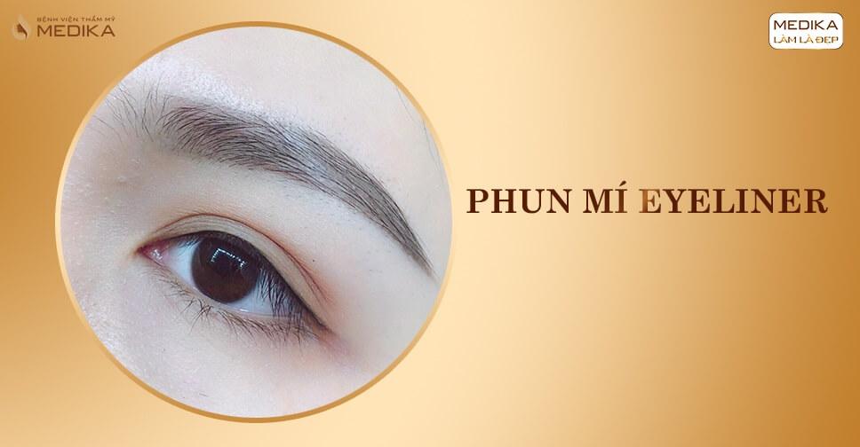Phun mí Eyeliner - Bệnh viện thẩm mỹ MEDIKA