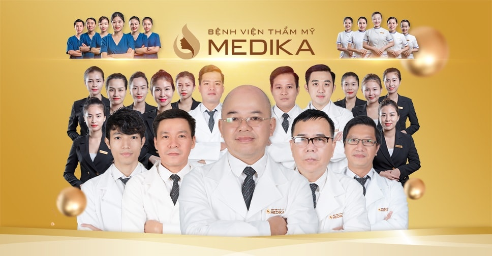 MEDIKA đứng top 4 bệnh viện thẩm mỹ uy tín, chất lượng