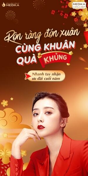 Banner dọc - Rộn ràng đón xuân - Cùng khuân quà khủng - Tháng 12/2019 - MEDIKA.vn